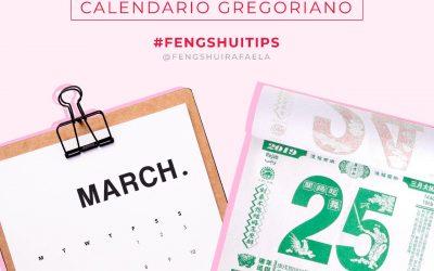 Feng Shui Tip: Calendario Chino vs Calendario Gregoriano