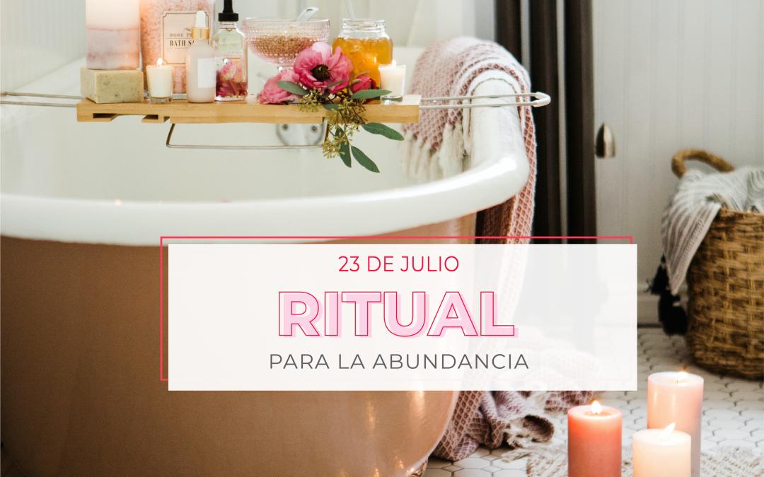 Ritual para la abundancia.