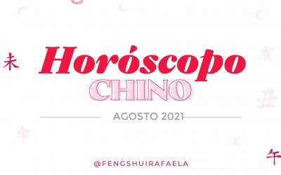 Horoscopo Chino para los 12 signos, del 7 agosto al 6 de septiembre.