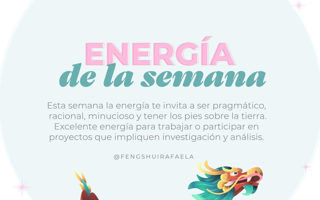 Energía de la semana del 9 al 15 de Agosto.