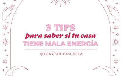 ¡3 tips para saber si tu casa tiene mala energía!